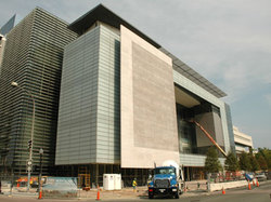 Newseum under construction