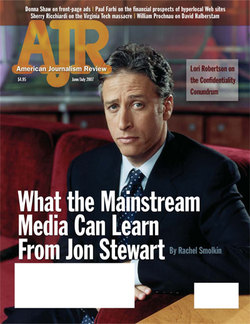 AJR: Many editors see magazines such as AJR and Columbia Journalism Review an important voice.
